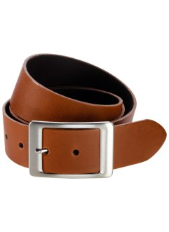 Ceinture en cuir Kayla, bpc bonprix collection, marron