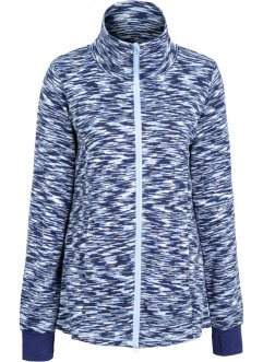 Veste en maille polaire, bpc bonprix collection, bleu nuit