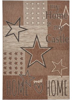 Tapis Star, bpc living, marron