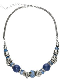 Collier, bpc bonprix collection, bleu/argenté