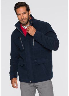 Veste longue aspect laine Regular Fit, bpc selection