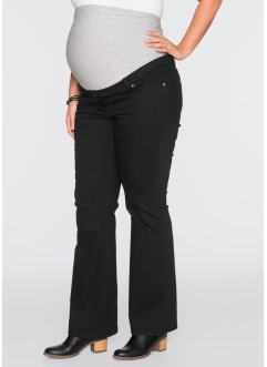Pantalon de grossesse bootcut, bpc bonprix collection, noir