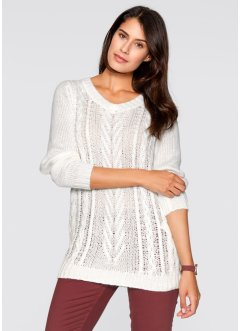 Pull long effet brillant, bpc bonprix collection