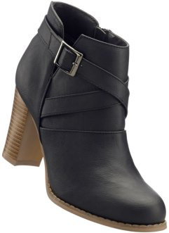 Bottines, John Baner JEANSWEAR, noir