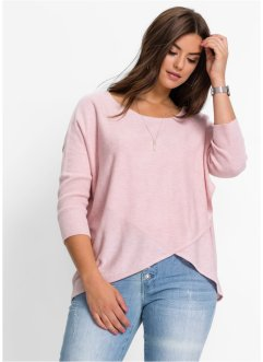 Pull, BODYFLIRT, rose dragée chiné