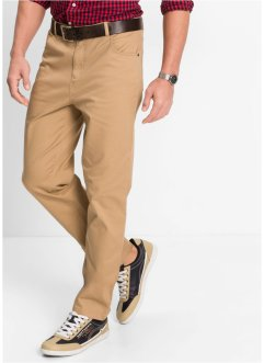 Pantalon extensible Classic Fit Straight, bpc bonprix collection, camel mat