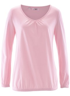 T-shirt manches longues, bpc bonprix collection, rose poudré