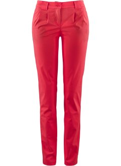 Pantalon chino extensible, bpc bonprix collection, rouge