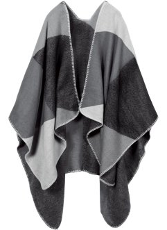 Poncho à carreaux, bpc bonprix collection