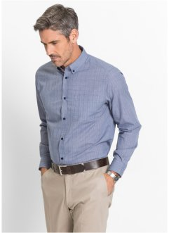 Chemise Business à carreaux Prince-de-Galles Regular Fit, bpc selection