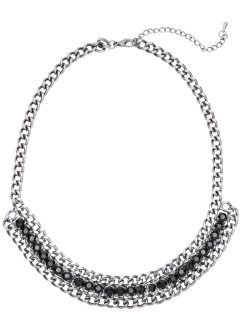 Collier au design en forme de chaîne, bpc bonprix collection, argenté