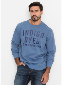 Sweat-shirt Regular Fit, John Baner JEANSWEAR, bleu jean