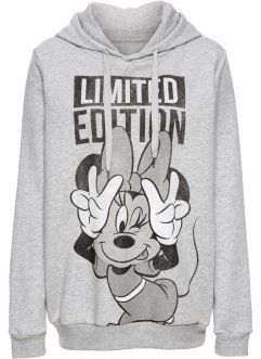 Sweat-shirt à capuche, Disney, gris chiné