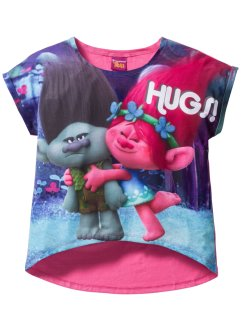 T-shirt TROLLS, Trolls the Movie, rose imprimé
