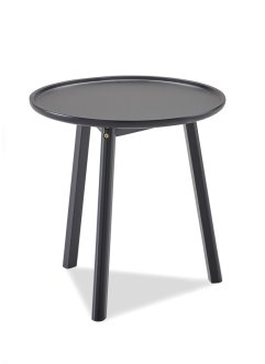 Table d'appoint Viggo, bpc living, noir