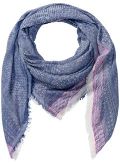 Foulard avec bordure excentrique, bpc bonprix collection