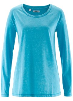 T-shirt manches longues, bpc bonprix collection, turquoise used