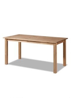 Table Hendrick 160 cm, bpc living, bois naturel