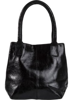 Sac à main en cuir Metallic, bpc bonprix collection