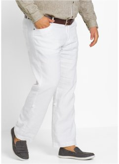 Pantalon en lin retroussable Regular Fit, bpc selection