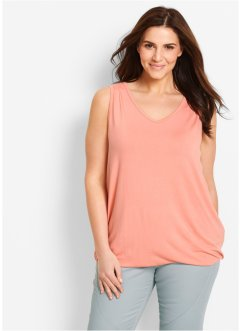 Top en jersey, bpc bonprix collection, rose saumon