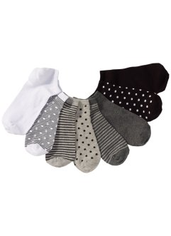 Lot de 8 paires de socquettes, bpc bonprix collection