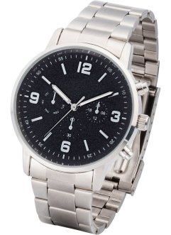 Montre homme bracelet métal, bpc bonprix collection