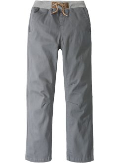 Pantalon chino à bords-côtes, John Baner JEANSWEAR