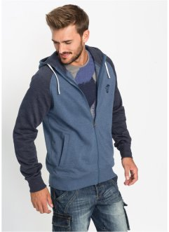 Gilet sweat-shirt Slim Fit, RAINBOW