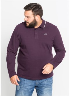 Polo manches longues Regular Fit, bpc bonprix collection