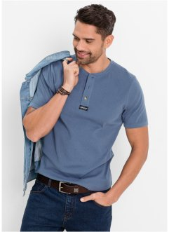 T-shirt regular fit coton côtelé, John Baner JEANSWEAR