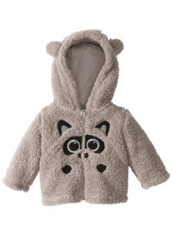 Gilet bébé en polaire peluche, bpc bonprix collection