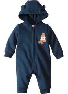 Combinaison sweat bébé en coton bio, bpc bonprix collection