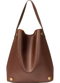 Sac shopper marron, bpc bonprix collection