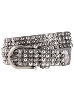 Ceinture en cuir à rivets ronds, bpc bonprix collection