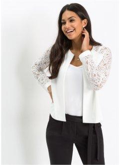 Veste tailleur femme noir et blanche