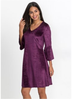 Robe en velours à volants : Must Have, BODYFLIRT