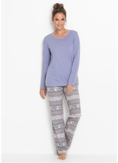 Pyjama coton bio, bpc bonprix collection