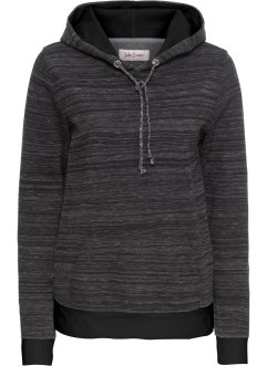 Sweat-shirt à capuche, manches longues, John Baner JEANSWEAR