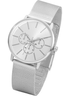 Montre à bracelet avec mesh, bpc bonprix collection