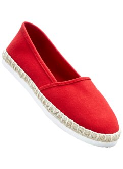 Dames En Espadrilles Rouge - Bpc Collection Bonprix Bonprix