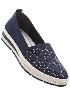 Bonprix - Slippers de Lico bleu pour femme