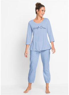 Pyjama avec pantalon 7/8, bpc bonprix collection
