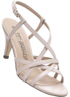 Sandales Femmes En Blanc - Bpc Bonprix Sélection vg3Pkwk