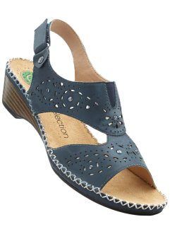 Sandales en cuir confortables, bpc selection