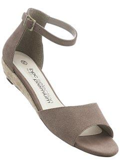 Femmes Sandales En Bleu - Bpc Bonprix Sélection Premium NpOacjzyE