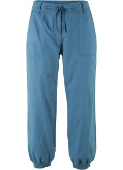 Pantalon en lin 3/4, Loose Fit, bpc bonprix collection