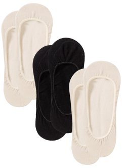 Lot de 3 paires de chaussettes ballerines, bpc bonprix collection