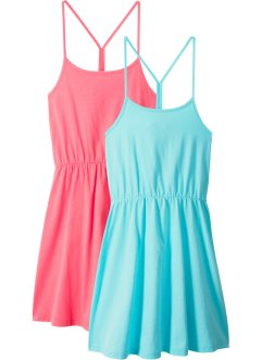 Lot de 2 robes estivales fille, bpc bonprix collection