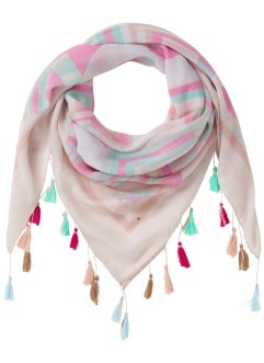 Foulard avec pompons, bpc bonprix collection
